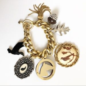 Juicy Couture Country Estate Charm Bracelet